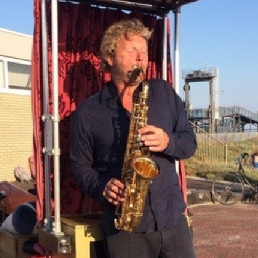 Saxophonist Badhoevedorp  (NL) The Saxmobile
