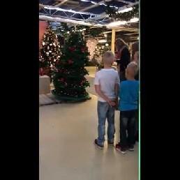 De wandelende kerstboom