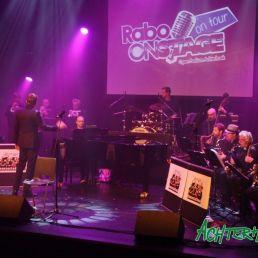 Big band jazz, pop Latin