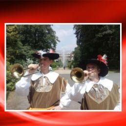 Trompettist Leersum  (NL) Het Nederlands herauten trompet duo