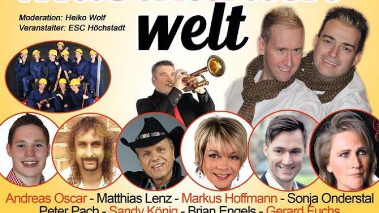 Duitse Schlagershow met tal van artiesten