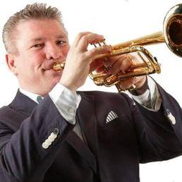 Trompettist Leersum  (NL) Schlager trumpeter Gerard