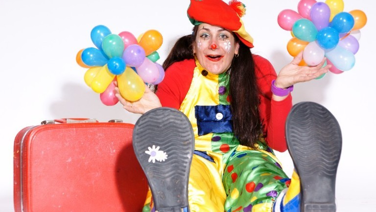 Clown Juju Voorprogramma Sinterklaas.