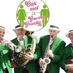 Band Deventer  (NL) Corona, maar toch muzikale gezelligheid!