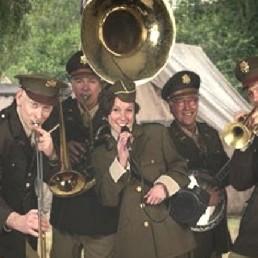 Band Deventer  (NL) Bevrijdingsdag Dixieland Band
