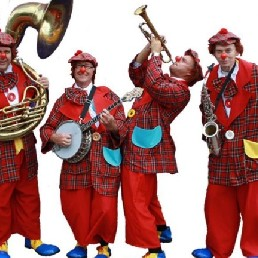 Band Deventer  (NL) Clowns Orkest
