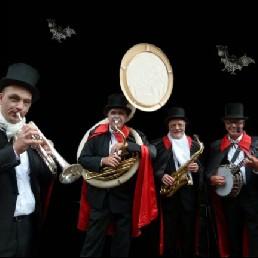 Band Deventer  (NL) Halloween Dixieland Orkest