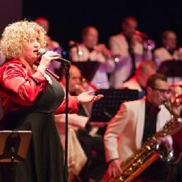 Band Haarlem  (NL) Käthe en bigband The Swingmasters