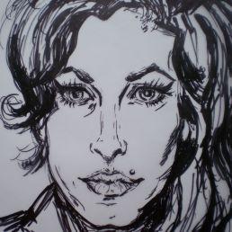 Kunstenaar Apeldoorn  (NL) Snel portretten tekenen