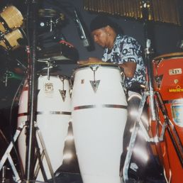 Percussionist George Brown