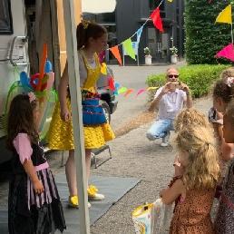 Balloon artist Utrecht  (NL) Balloon stall Bella Balloon