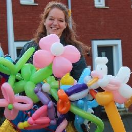 Ballon artiest Utrecht  (NL) Ballonartiest Bella Ballon