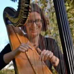Harpist Wageningen  (NL) Wedding harpist