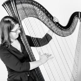 Harpist Wageningen  (NL) Harpist