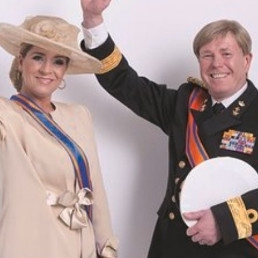 Animatie Heinenoord  (NL) Willem Alexander Look a Like