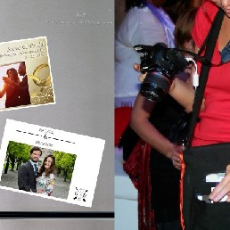 Photographer Haarlem  (NL) Photo magnets wedding guests