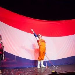 Magician Hardenberg  (NL) De grote Rood-Wit-Blauw show