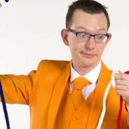 Kindervoorstelling Hardenberg  (NL) De grote Rood-Wit-Blauw show