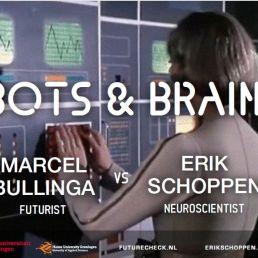 Spreker Sint Pancras  (NL) Trendwatcher Bullinga: Battle Robot vs Mens