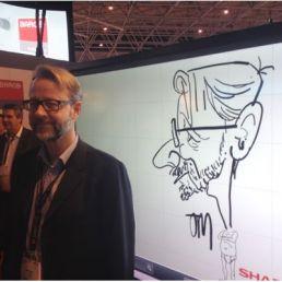 Sneltekenaar Karikaturist