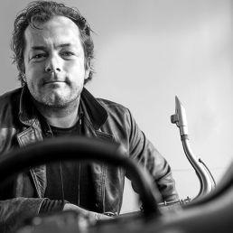Saxofonist Rotterdam  (NL) Saxofonist Rene van Hertum