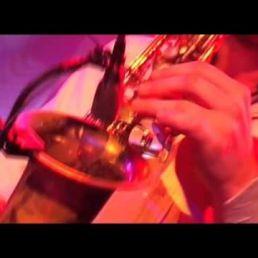 Saxofonist Rene van Hertum