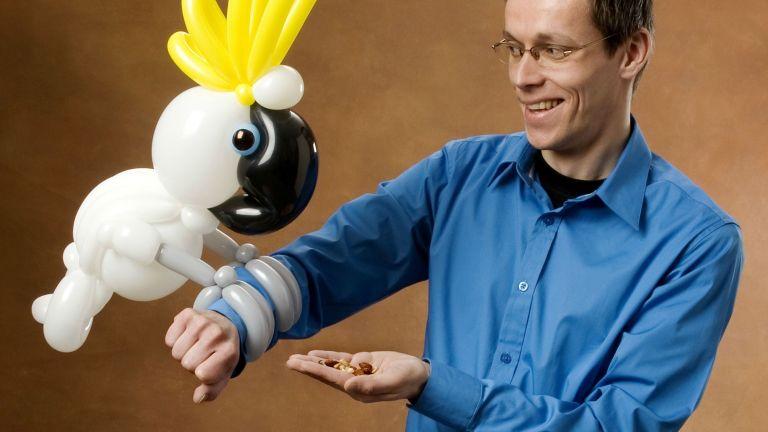 Deluxe Ballon Act door Ballonkunstenaar Patrick