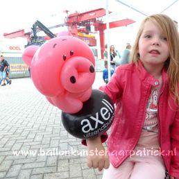 Ballon artiest Apeldoorn  (NL) Festival der reclameballonnen