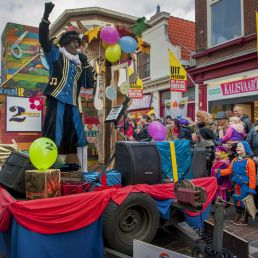 Kindervoorstelling Asten  (NL) Piet Rolando show