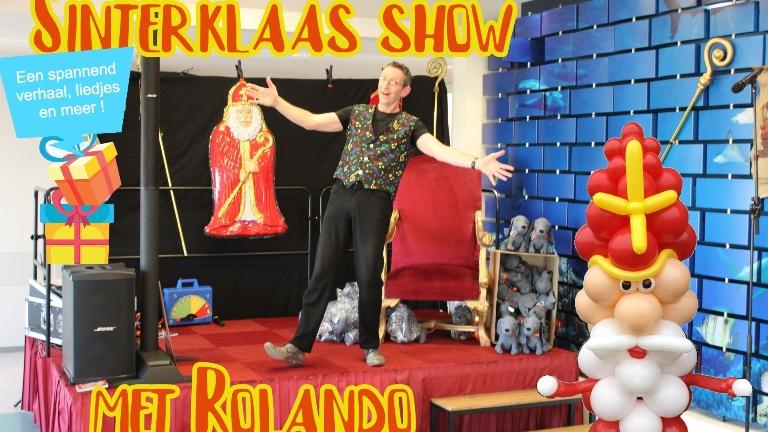 Sinterklaas show op 1.5 meter