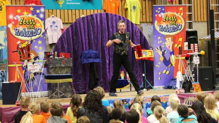 Kindershow Feest met Rolando