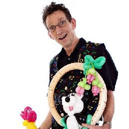 Balloon artist Asten  (NL) Ballonartiest Rolando