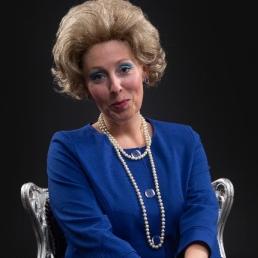 Animatie Cuijk  (NL) Koningin Beatrix