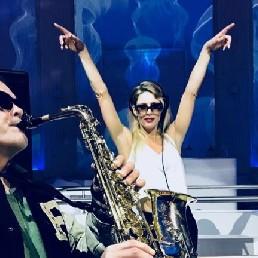 Saxofonist Warmond  (NL) Saxofonist Jan Kiewiet de Jonge