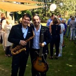 Band Eindhoven  (NL) Fine Jazz Duo Gitaar & Saxofoon