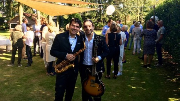 Fine Jazz Duo Gitaar & Saxofoon