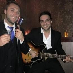 Zanger Eindhoven  (NL) Fine Jazz Duo zang & gitaar