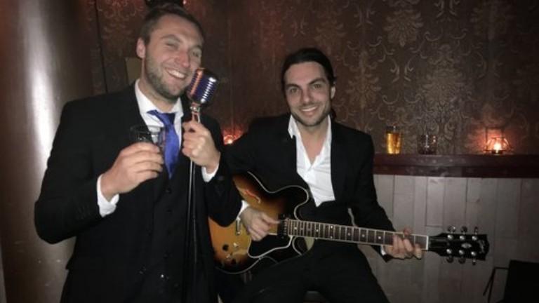 Fine Jazz Duo zang & gitaar