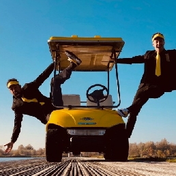 Drive-in show Houten  (NL) Actie in de Taxi!