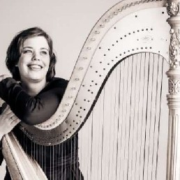 Harpist Nijmegen  (NL) Anouk Platenkamp (Harpiste)
