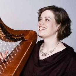 Harpist Nijmegen  (NL) Therapeutische harpmuziek