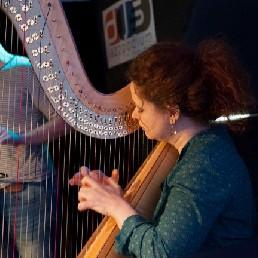 Harpist Tilburg  (NL) Renske de Leuw - harp