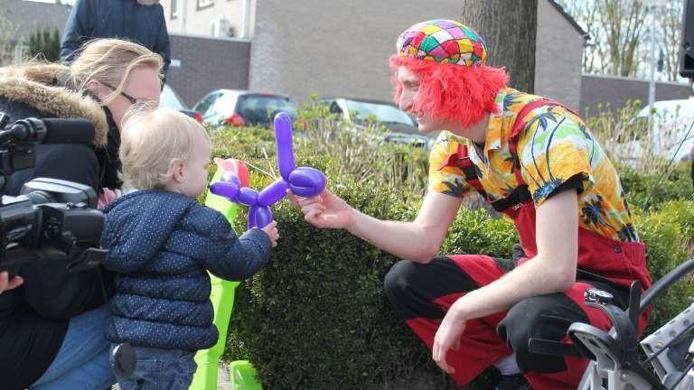 Ballonnen clown Luuk Truc