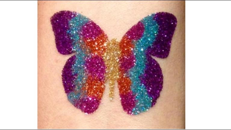 Glitter Tattoo Artiest