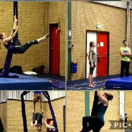 Trainer/Workshop Roermond  (NL) Aerial Silks workshop
