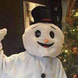 Character/Mascott Groesbeek  (NL) Snowman Witty