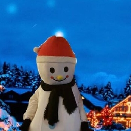 Character/Mascott Groesbeek  (NL) Snowman Meltie