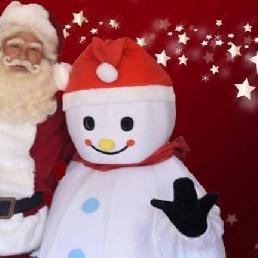 Character/Mascott Groesbeek  (NL) De Kerstman En Smeltie De Sneeuwpop