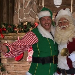Character/Mascott Groesbeek  (NL) Santa Claus and Santa himself