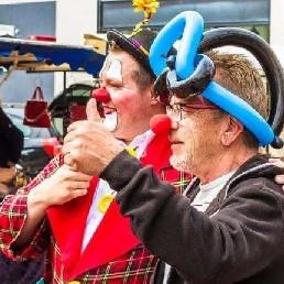 Clown Zuidbroek  (NL) Ballonnenclown Japie